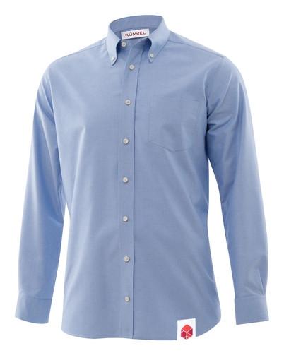 Oxfordhemd, langarm, Jungen
