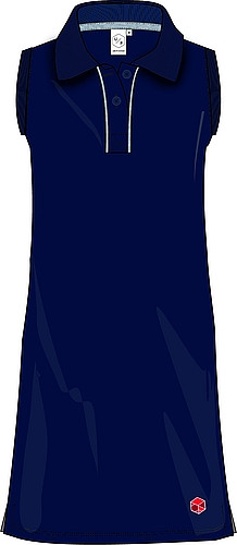 Polodress, without sleeves, NEW